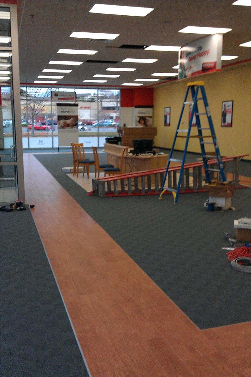 Construction Clean up Mattress Firm
